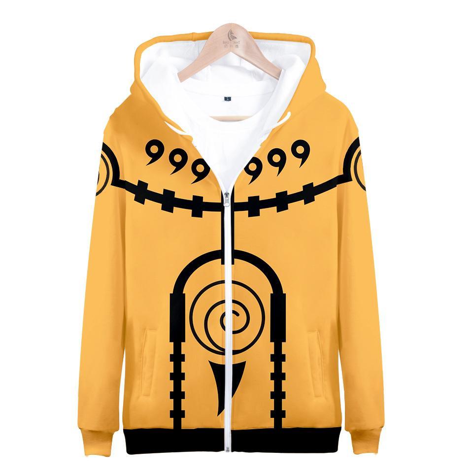 Naruto 3D Hoodies Men Sasuke Itachi Uchiha Kakashi Cosplay Pullovers Hooded Sweatshirts Zipper Jacket Sportswear Anime Clothing