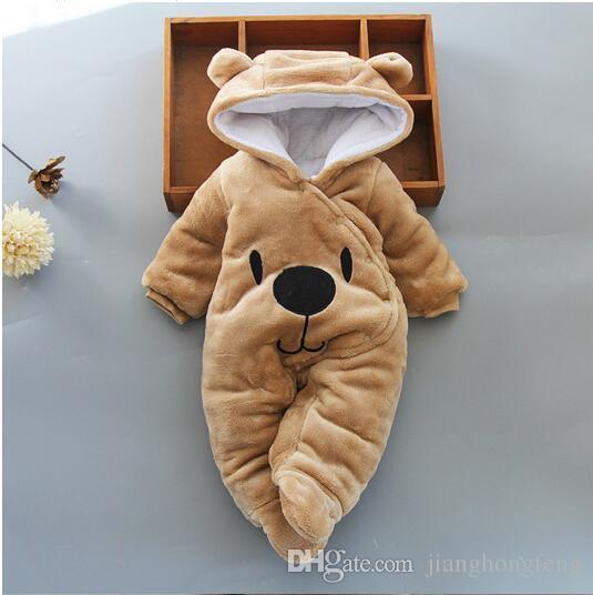 حار بيع ملابس الطفل الصبي الفتيات ملابس القطن الوليد طفل السروال القصير لطيف الرضع مولود جديد الملابس الشتوية