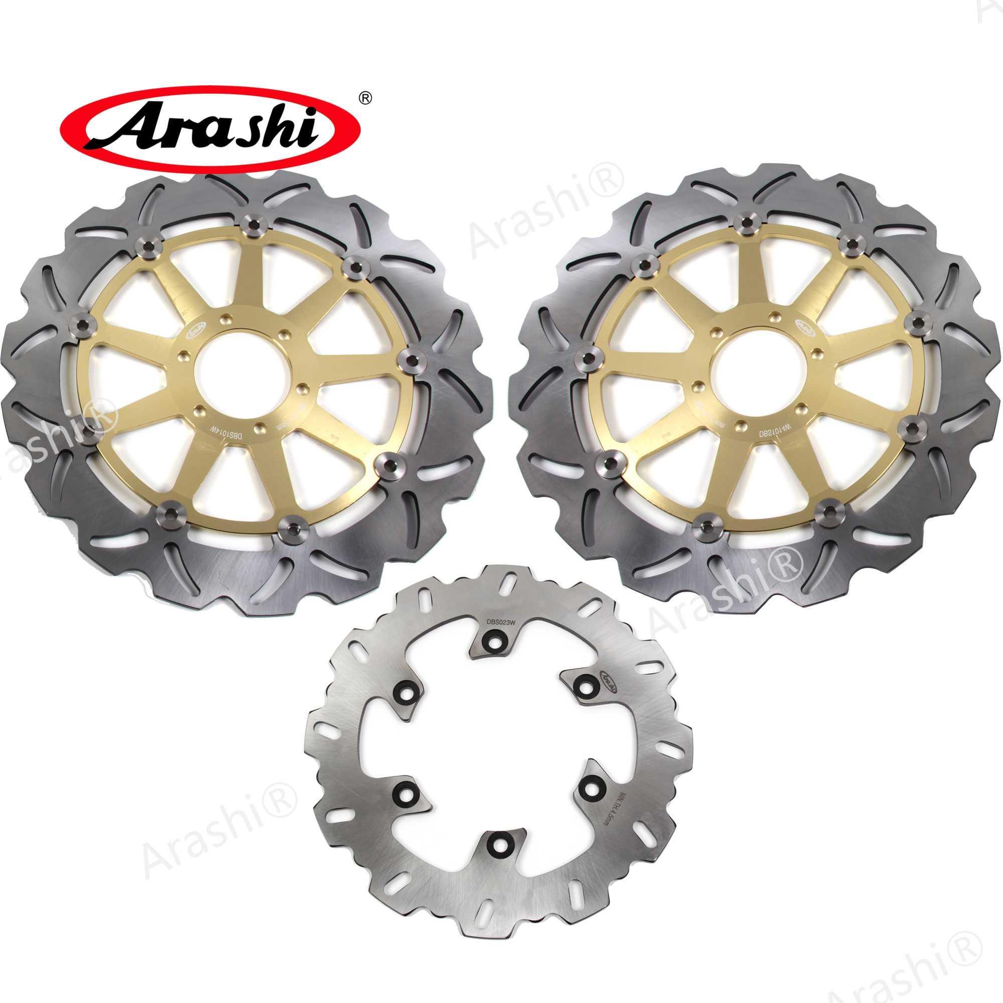 Arashi 1 Set Para ST2 944 1997 1998 1999 2000 2002 2003 CNC Floating Freio Dianteiro Traseiro Disco de freio Rotores Motorcycle