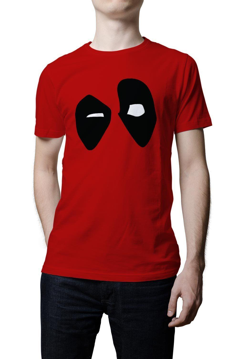 aa3c679b417 Deadpool T Shirt Dead Pool Eyes Marvel Funny Superhero Movie Tshirt Marvel  Top Funny free shipping Unisex Casual