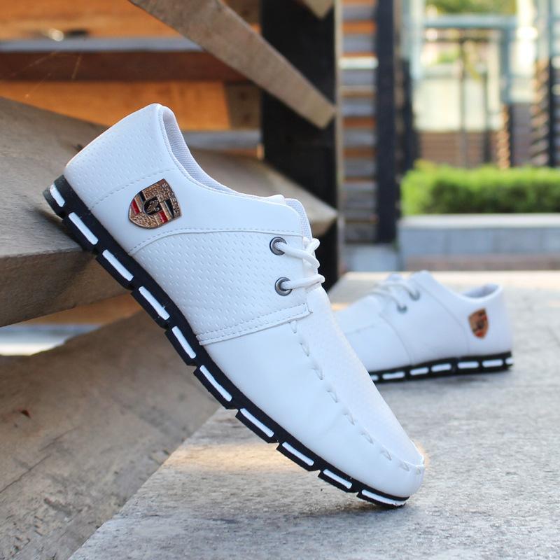 Moda Loafer ayakkabılar gündelik erkek ayakkabısı kaymaz erkek Flats nefes Sneakers erkek Mokasen ayakkabıları hafif Zapatillas Hombre 2020