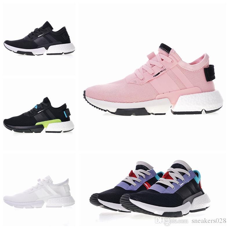 2019 бесплатная доставка оригиналы новая обувь P. O. D.-S3. 1 Мужчины и женщины спортивная обувь код кроссовки размер
