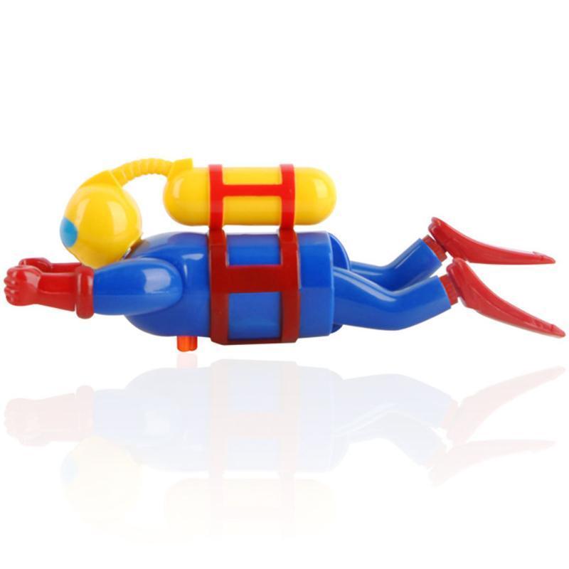 Rüzgar Yukarı Yüzer Banyo Oyuncak Plastik Companion Komik Çocuk Bebek Havuzu Aksesuarları Renkli Yüzme Güvenli Dalgıç heykelcik