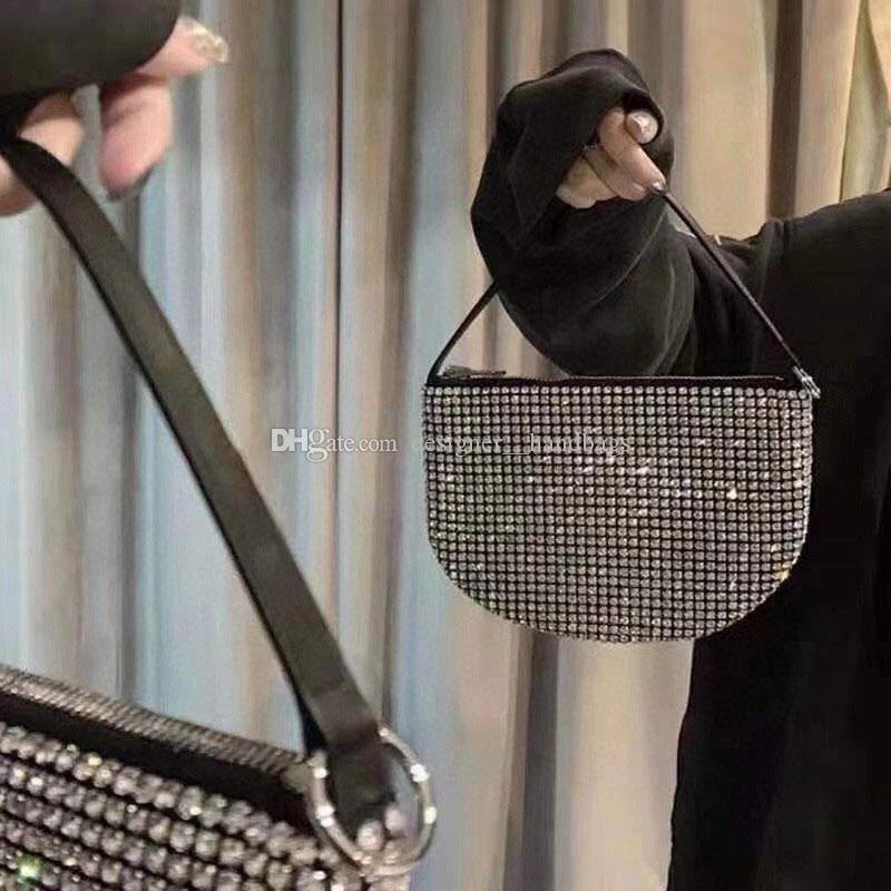 Designer-Handtaschen-Geschenk-Beutel Luxus-Handtaschen-Frauen-Beutel-Frauen Frau Frauen Designer diagonale White Diamond Handtasche Modische und einfache larg