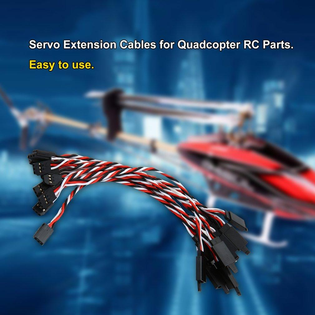 5PCS/SET 150MM 60 Cores Servo Extension Female Cables Connection Extend Wire Extended Lines For Futaba Quadcopter RC Parts