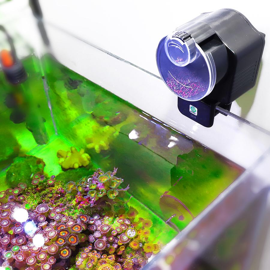 تغذية السيارات تغذية أجهزة آلية لالروبيان الأسماك السلاحف خزان السيارات السمك الموقت الطاعم الغذاء تغذية