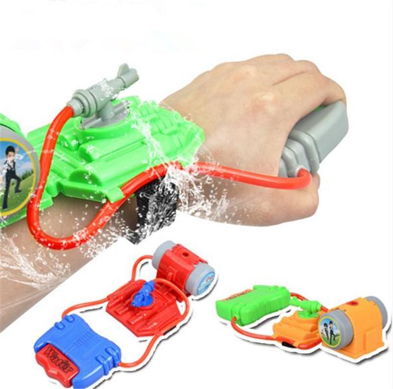 i bambini pistola ad acqua polso calda di vendita di alta qualità di vendita dei bambini caldi della pistola di acqua d'estate i bambini a basso costo giocattoli da spiaggia di plastica