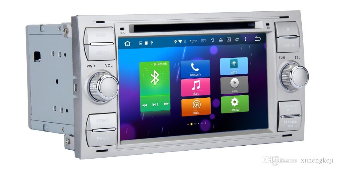 4G 32G 8-Core Android 9.0 8inch Car Dvd Gps Navi Audio for Ford Focus Galaxy S-Max Fusion Fiesta Kuga mondeo c-max s-max Steering wheel