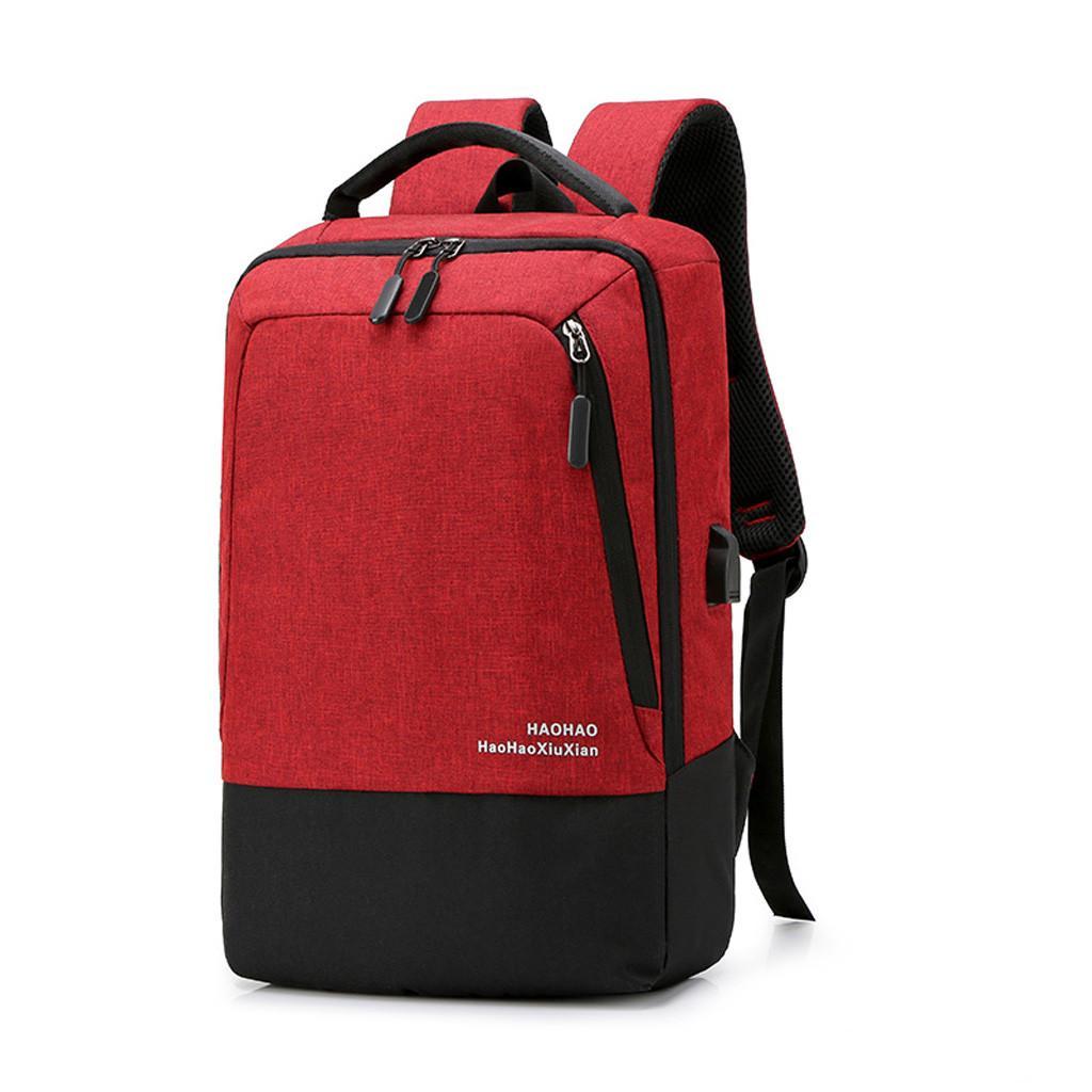 디자이너 - 배낭 여행 남성 여성 레저 대용량 플레 어깨 노트북 가방 학생 배낭 책가방 메신저