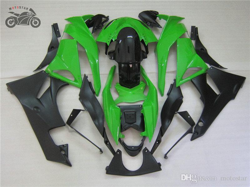 kits del carenado libre de encargo para Kawasaki 2009 2010 2011 2012 Ninja ZX6R carrera de ruta china carenados kit ZX6R ZX 6R 09-12
