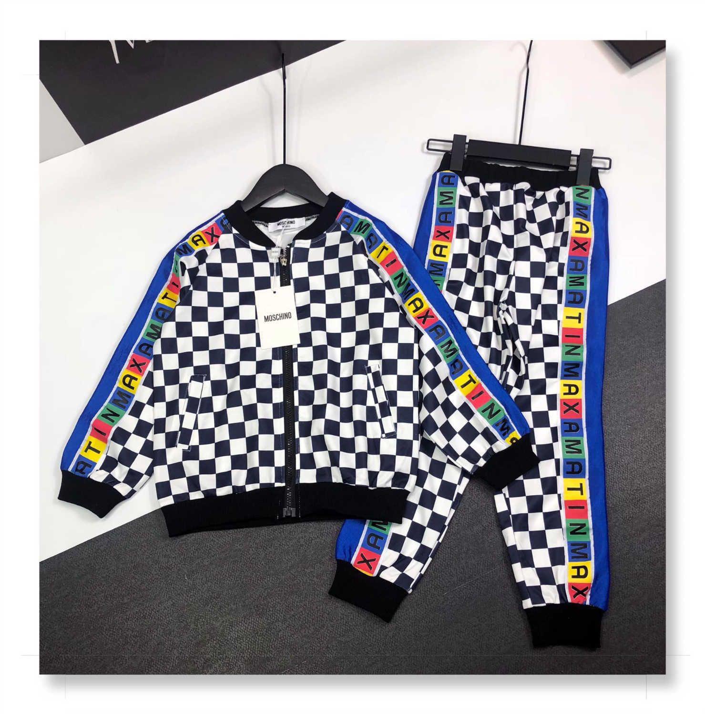 conjuntos Boy 2pcs topo WSJ024 alta qualidade + calças # 110518 wzk526