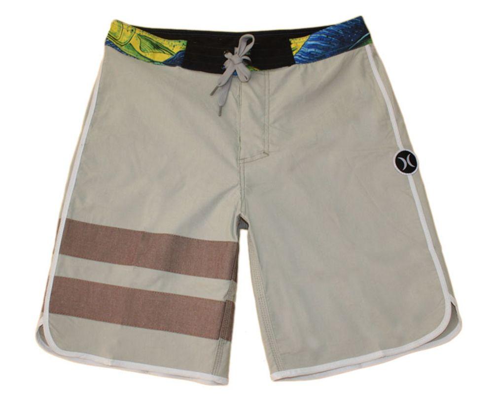 Hurley Elastane Cotton Fashion Loose Shorts Mens Bermudas Shorts Board Shorts Beachshorts Swim Trunks Swim Pants Swimwear Swimming Trunk NEW
