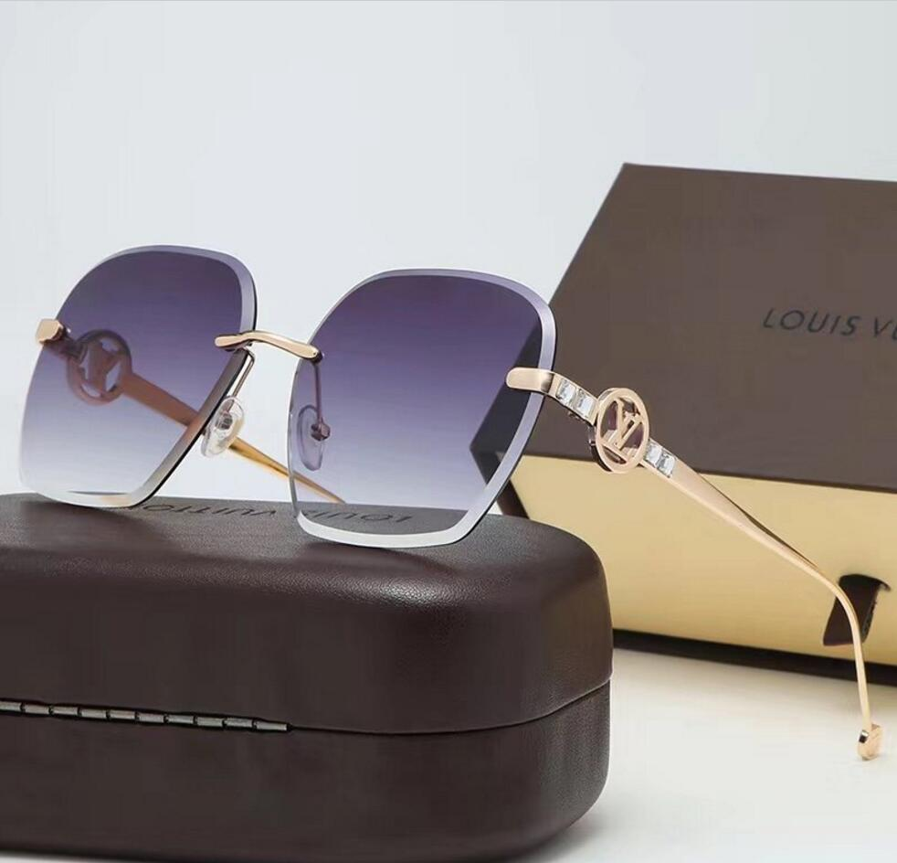 2020 vendita calda di vetro di disegno di marca degli occhiali da sole di marca Pilot Vintage Occhiali da sole UV400 banda Uomini Donne Ben telaio in metallo Lens 39