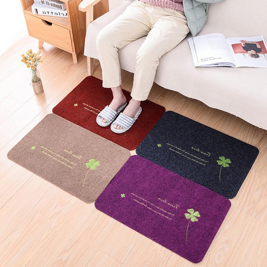 Wholesale Home Indoor/Outdoor Decor Pad Non-slip Funny Doormat Welcome Rug Carpet Corridor Floor Mat Entrance Front Door Mats 0721