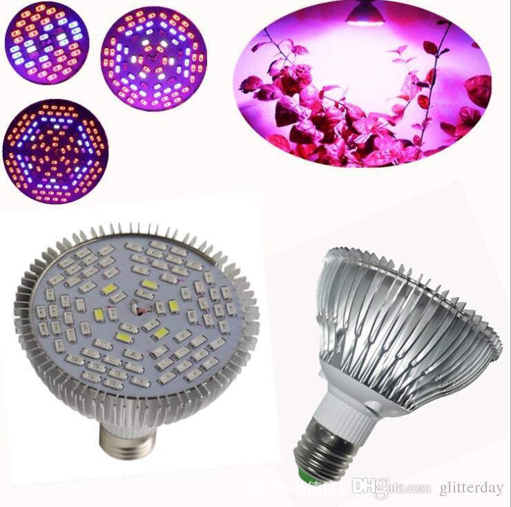 50분의 30 / 80W E27는 빛 전체 스펙트럼 AC 85-265 실내 식물 정원 온실 수경 식물에 대한 전구 램프를 성장 LED 성장
