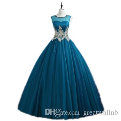 100% vero blu pavone ricamo rococò Abito rinascimentale medievale Abito principessa Sissi Abito da ballo / abito da ballo Vittoriano / Marie / Belle Ball.