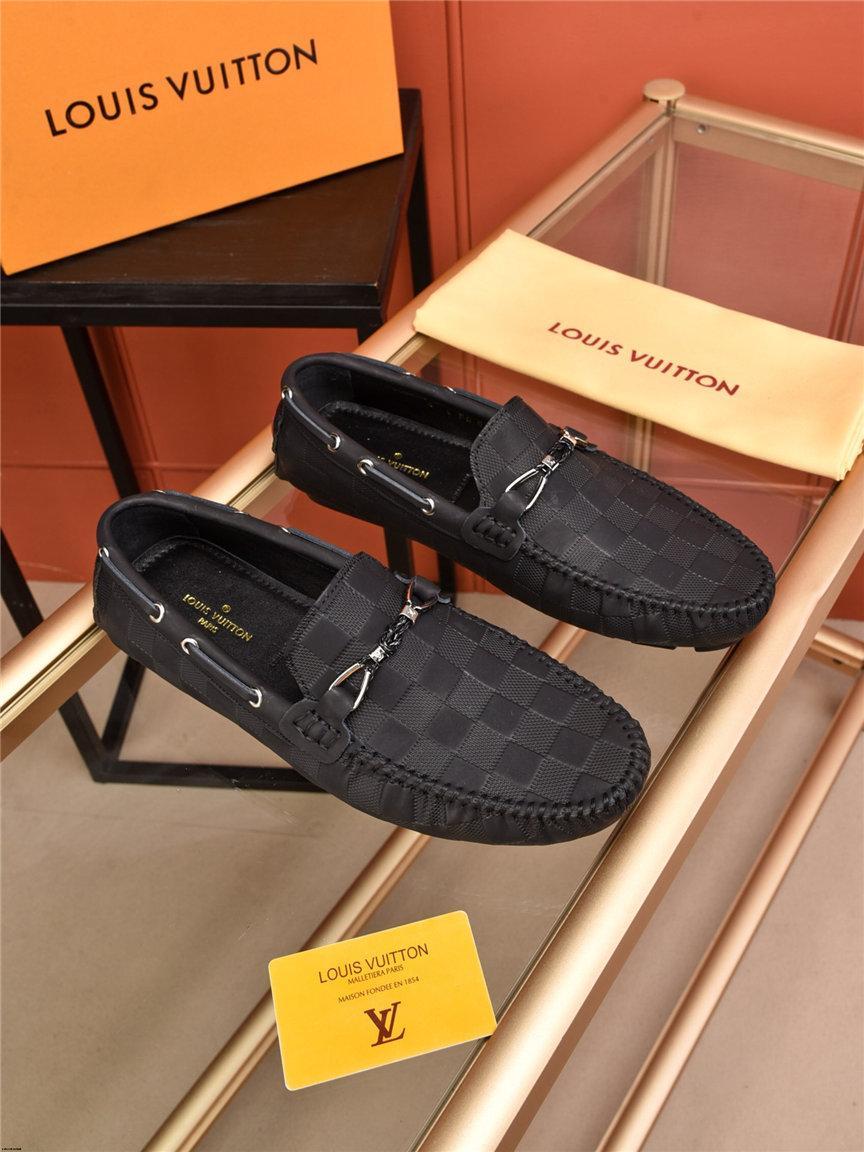 Marcas 20SS Zapatos de lujo ocasionales 2019 zapatos para hombre Moda Italiana hombres del cuero genuino de los holgazanes deslizamiento en los Pisos Mocasines de hombres