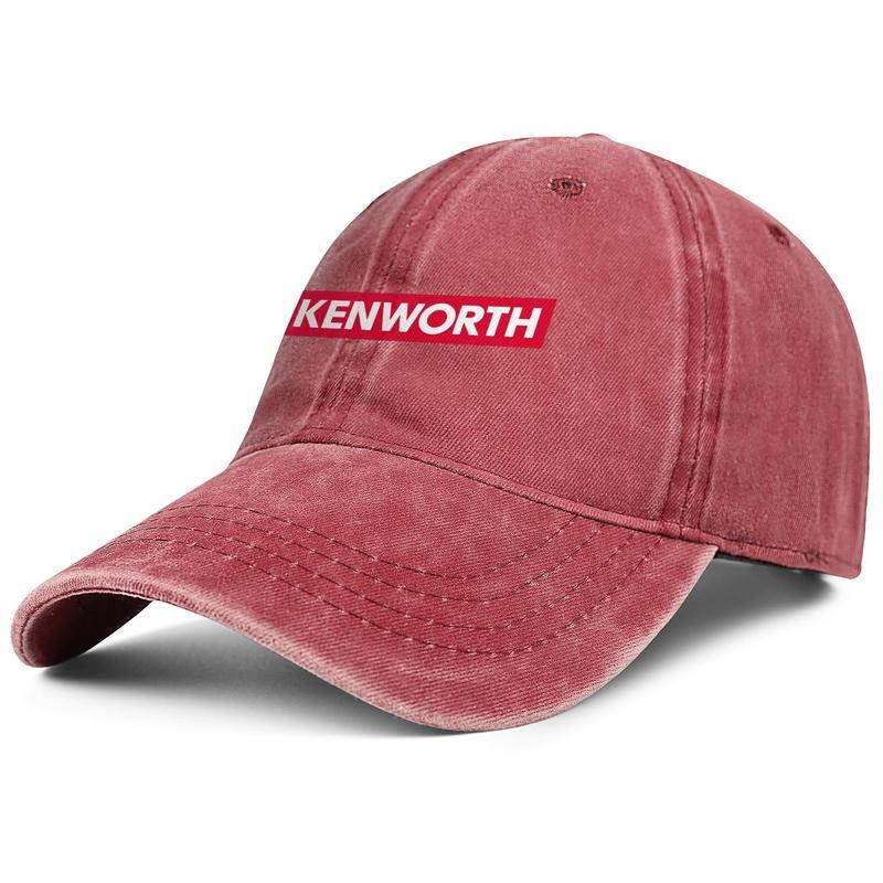 Kenworth W900 Camions Mécanique d'entraînement Dump Mode Unisexe Casquette de baseball boule Aménagée Adjustable Hat Vintage personnalisé Denim vieux
