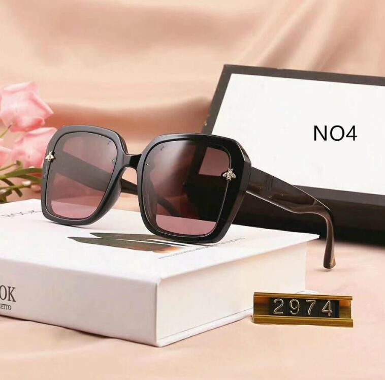 2020 del progettista delle donne del nuovo estate occhiali da sole di marca degli occhiali da sole Donna Mare degli occhiali di protezione UV400 2974 5 colori di qualità eccellente con la scatola
