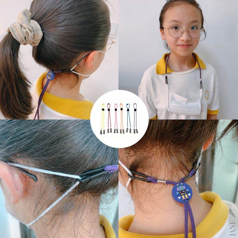 DHL Anti-Slip Maschera Ear Grip Viso estensione Risparmiatori maschere regolabile monouso Fibbia titolare Maschera Orecchio Fibbia corda Ear-hook L368FA
