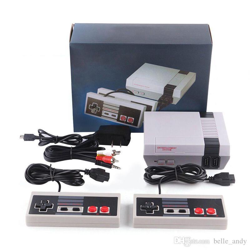 يمكن تخزين TV البسيطة 620 500 لعبة وحدة التحكم فيديو يده على NES الألعاب الإلكترونية مع صندوق البيع بالتجزئة DHL