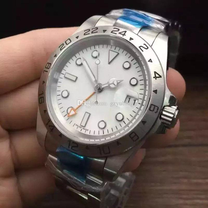 Best Quality Mens Watch Montre de Luxe WrintWatches автоматическое движение нержавеющие спортивные мужские часы