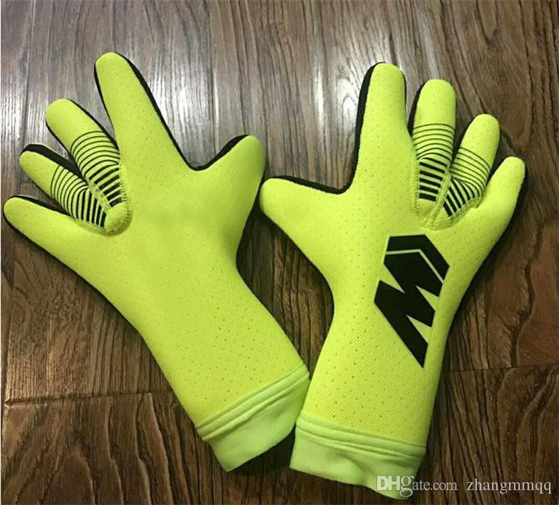 Внутренняя швейное вратарь перчатка дышащей профессиональные вратаря перчатки тренировочного матча