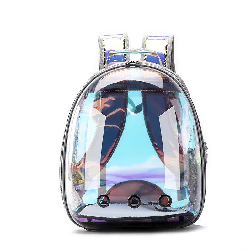 Designer-Haustier-Tragetasche Space Backpack Space Mesh Atmungsaktiv Cat Small Dog Travel Outdoor