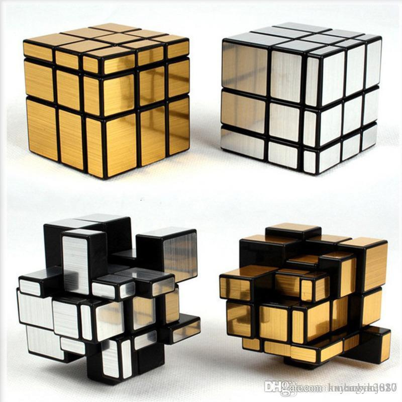 Neo Magic Mirror Cube 3x3x3 Gold Silver Professional Speed Cubes Puzzles Speedcube Educational Toys For Children Adults Gifts Laser Keyboard Phone Rubik Cube Puzzle From Huyanbin2020 9 05 Dhgate Com