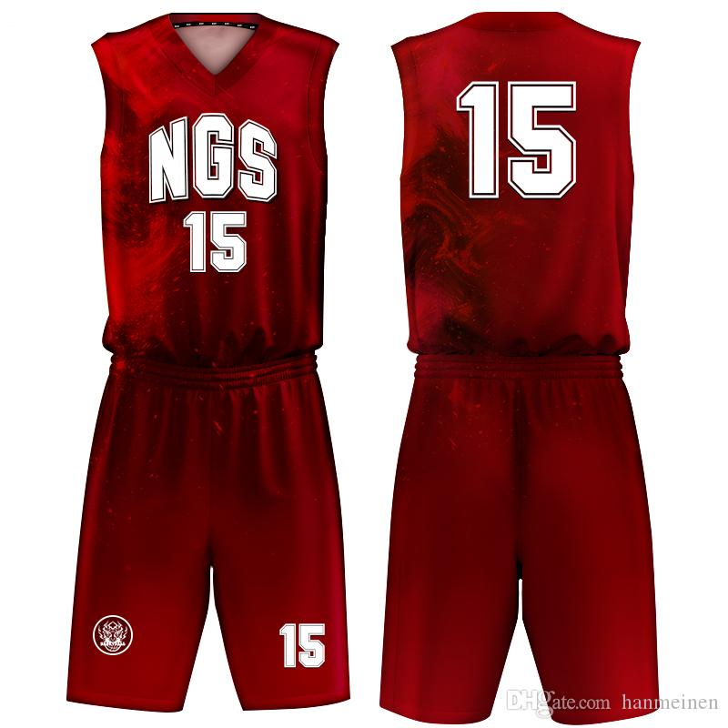 2020 Sportswear Manufacturing Factory High Quality Oem Custom Sublimated Basketball Jersey Design Basketball Uniforms Wholesale From Hanmeinen 23 36 Dhgate Com