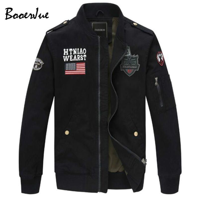 Jacket 2020 New Hot Selling Men Autumn Jacket Mens Spring Coat Washed with Water Cotton Leisure Fashion