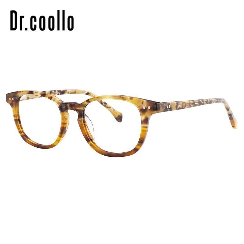 Clear Transparent Full Rim Prescription Anti Blue Light Eyewear Optical Glasses Fake Frames Bright Multicolor Spectacle Frames