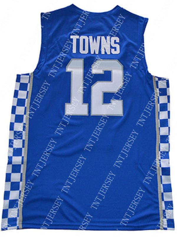 online store ff0ff e9771 2019 Cheap Wholesale Karl Anthony Towns Jersey Kentucky Wildcats Blue White  Sewn Customize Any Name Number MEN WOMEN YOUTH Basketball Jersey From ...