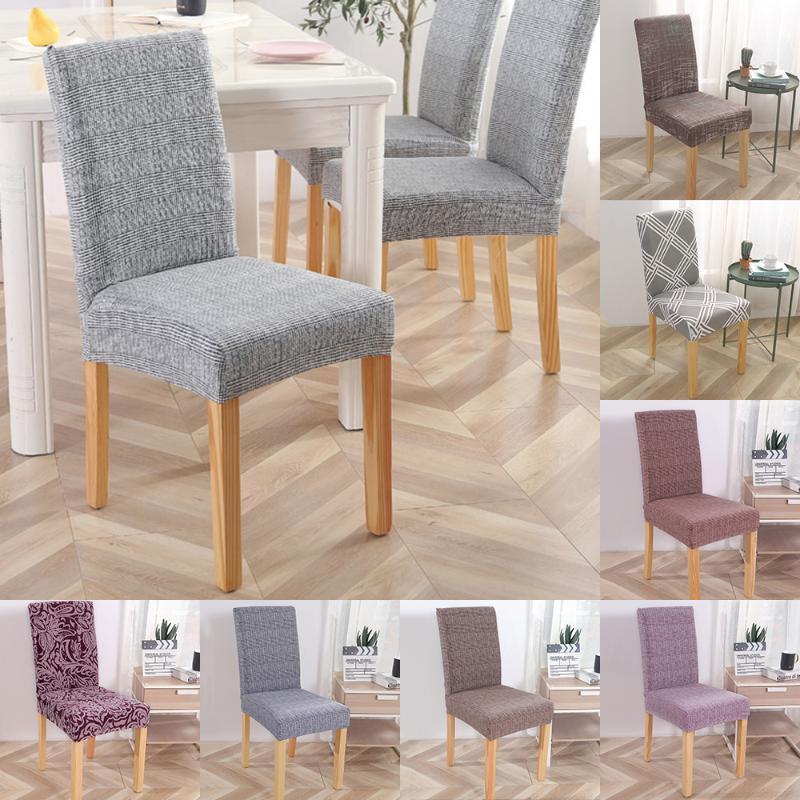 Impresso estiramento Presidente capa protetora do assento Slipcovers Universal capas de cadeira de tamanho para Hotel Banquete Decoração de casamento