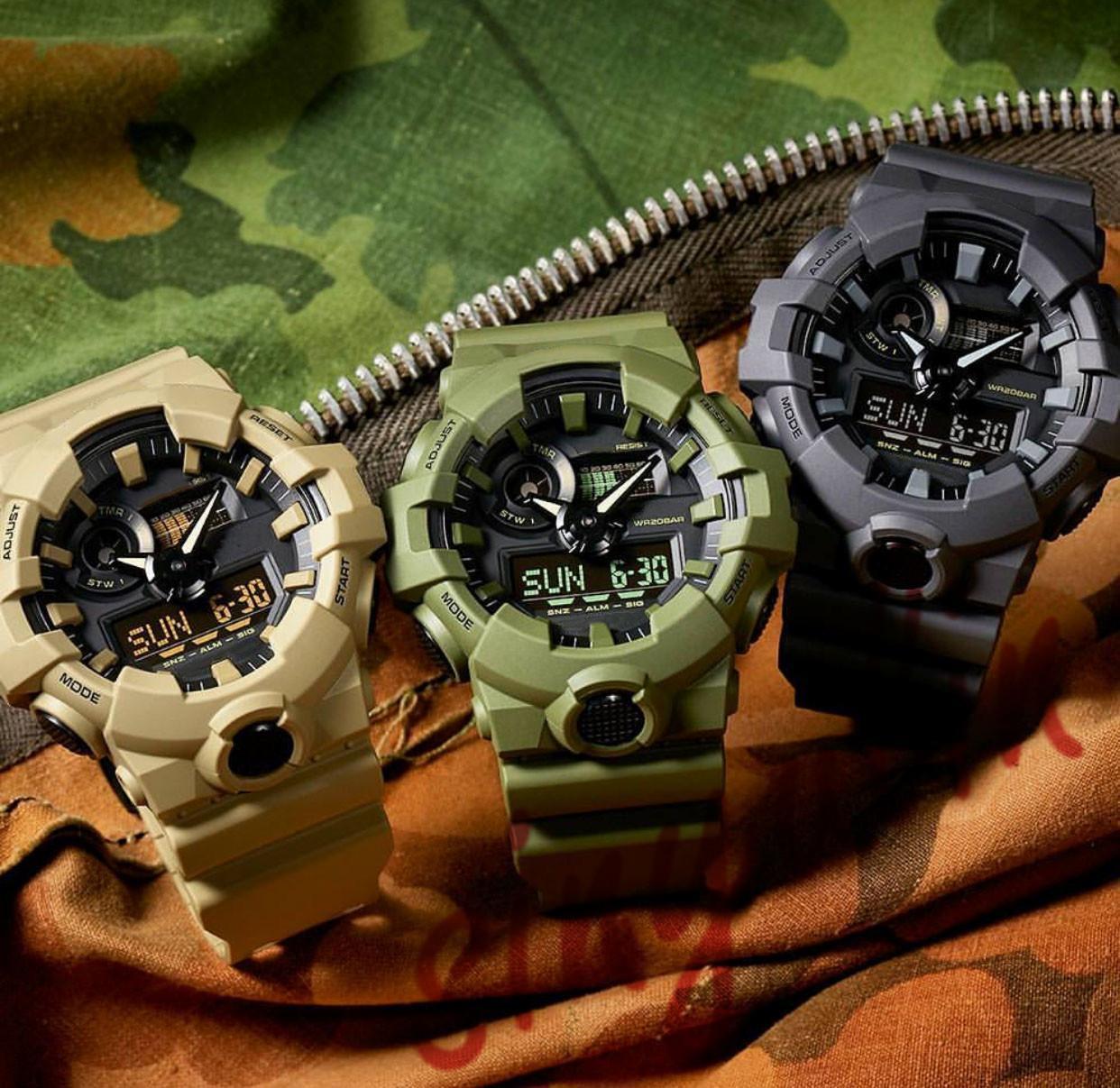 Impermeabile di lusso LED Digital Classic orologio colore nero 710 Sport Watch Reloj Mujer G Stile Shock orologi da uomo Sport Desinger Marca Wa