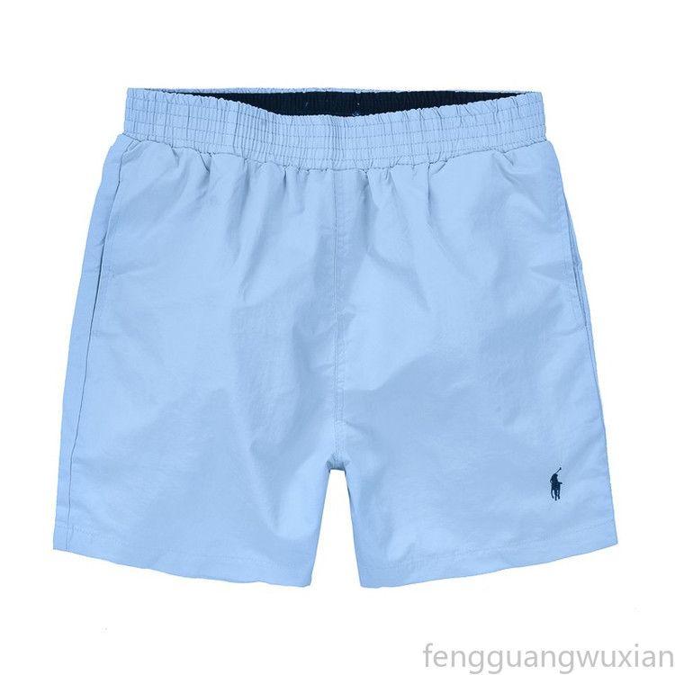 Hombre Nuevo Polo verano Junta Pantalones cortos para hombre de la playa de la resaca de pantalones cortos de baño Hombre Bañador FGs01