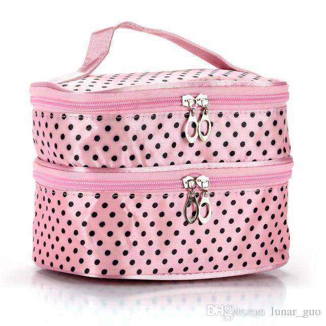 Cosmetic Case Makeup Travel Toiletry Hanging Purse Holder Beauty Portable Bags Wash Make up Bag Organizer With Hook
