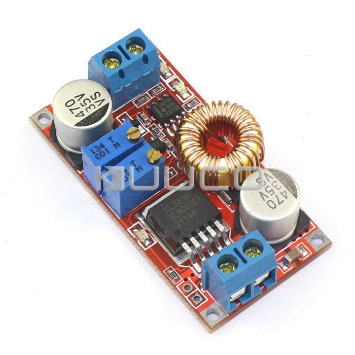 Freeshipping 5 PCS DC Adjustable Constant voltage constant current Voltage Regulator DC 5V-32V to 0.8V-30V 5A Battery Charger Module #090626