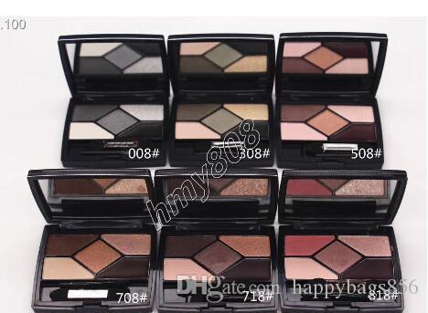 SICAK Makyaj Göz Farı 5 Renk Göz Farı plakaları 5 COULEURS EYESHADOW 5.7g