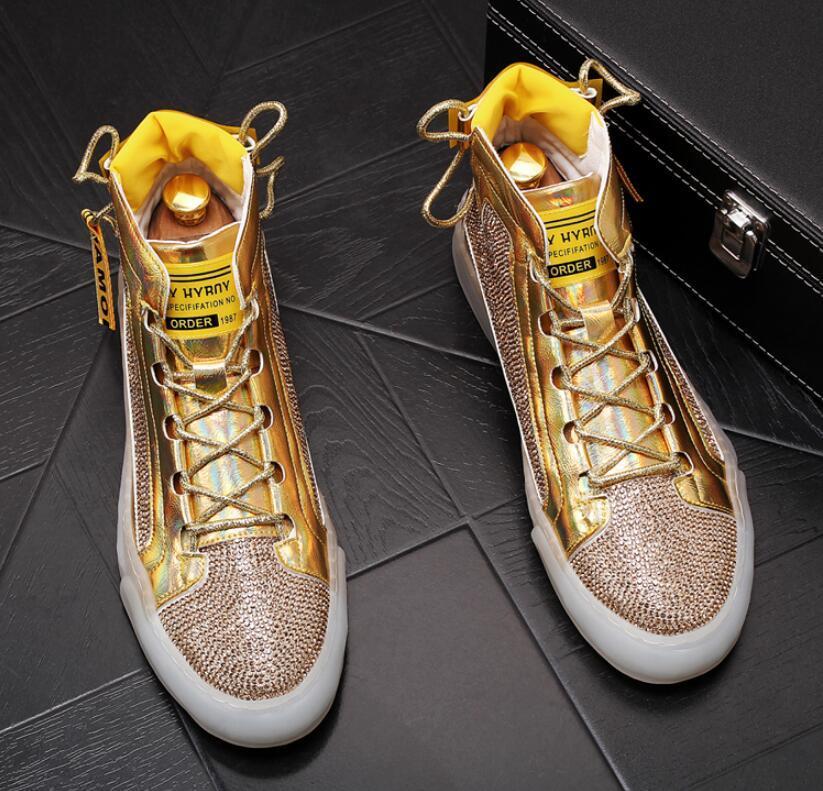 Moda su sondaj erkek ayakkabıları Tasarımcı ayakkabı 2020 Erkek spor ayakkabıları erkekler rahat ayakkabı erkekler yüksek üstleri Yarım bot chaussure homme