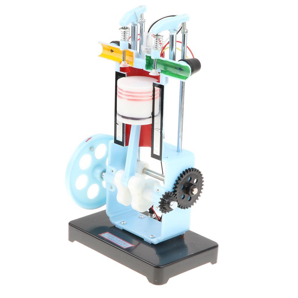 Modèle de moteur de combustion à quatre temps en métal School School d'enseignement physique pour enfants cadeau jouet enfants
