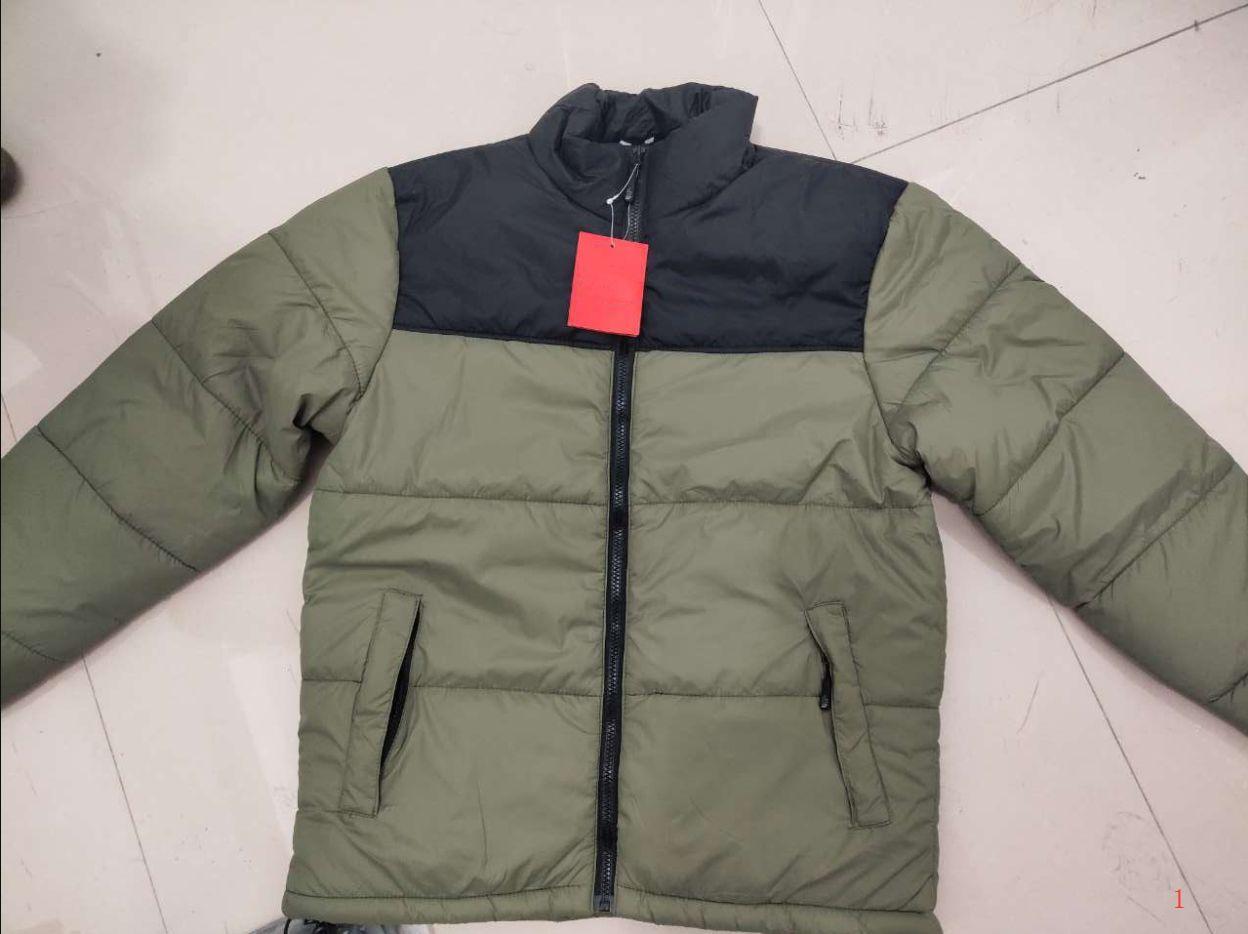 Mens Jackets Parkas Hooded Parkas Down Coat Windbreaker Warm Jackets The Face Zipper Thick Jackets Coat LR191003