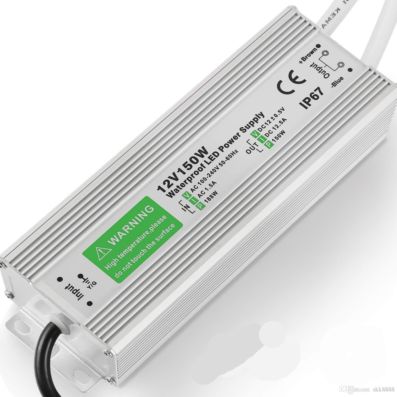 ip67 12v//dc psv-12-12 impermeabile - 12w 1a LED Trasformatore-Alimentatore Smd