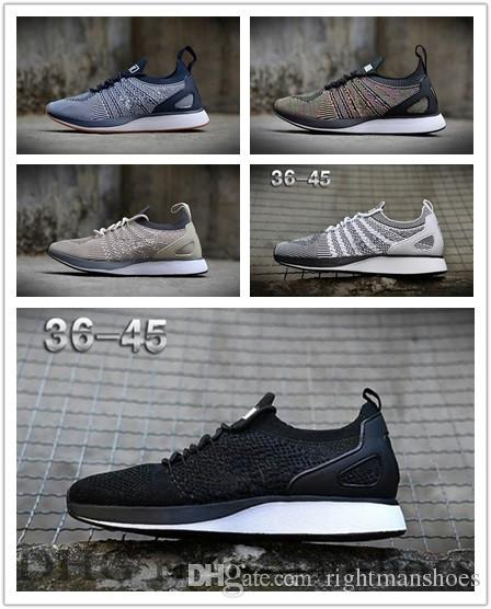2019 Air Zoom Mariah Racer Running Shoes Flywire Racer 2.0 Trainers Mens Womens Sports Designer Walking Sneakers TJ159