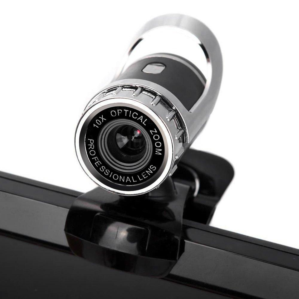 High quality 360 Degree USB 12M HD Webcam Web Cam Clip-on Digital Camcorder with MIC Microphone for Laptop PC Computer#T2