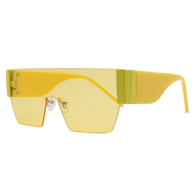 2020 Moda Luxo Mulheres Designer Sunglasses Praça Big Quadro Verão generoso estilo misto Cor da Armação Top Quality Lens Proteção UV