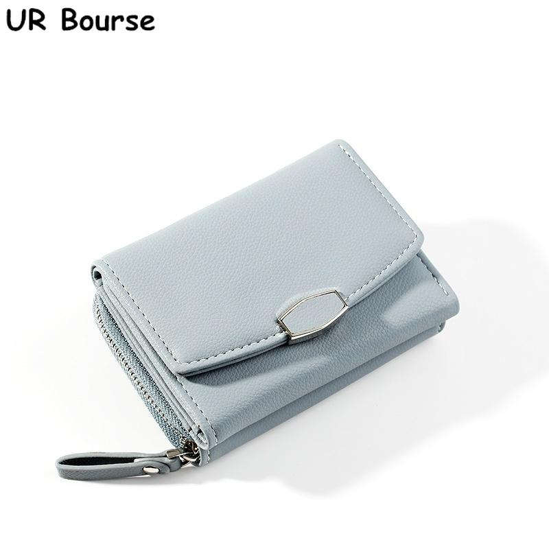 Multi-Functions Credit Holder Men and Women PU Leather Card Wallet Small Purse