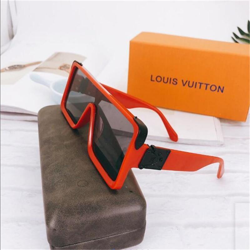 2020 vendita calda di disegno di marca degli occhiali da sole di marca Pilot Vintage Occhiali da sole UV400 banda Uomini Donne Ben metallo vetro Montatura Lente A1