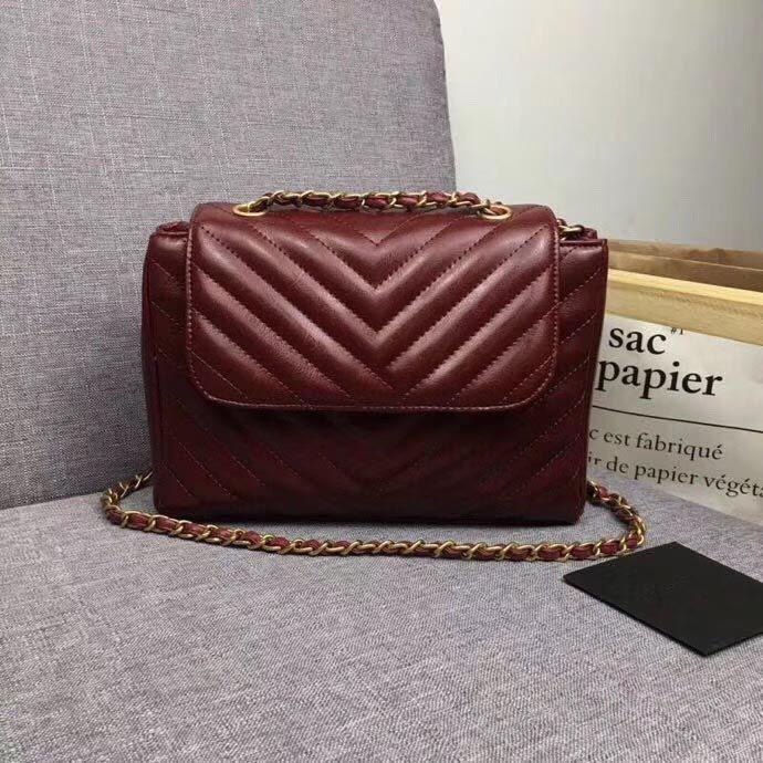 Женская сумка на одно плечо, женская цепная Сумка, женская модная деловая сумка для отдыха, размер: 22*5*13.5 см