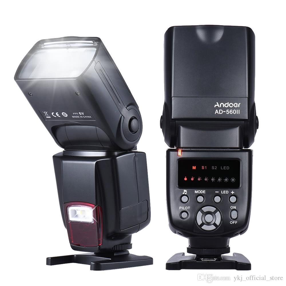 فلاش LED Speedlite العالمي ملء ضوء لكاميرات كانون نيكون أوليمبوس بنتاكس DSLR